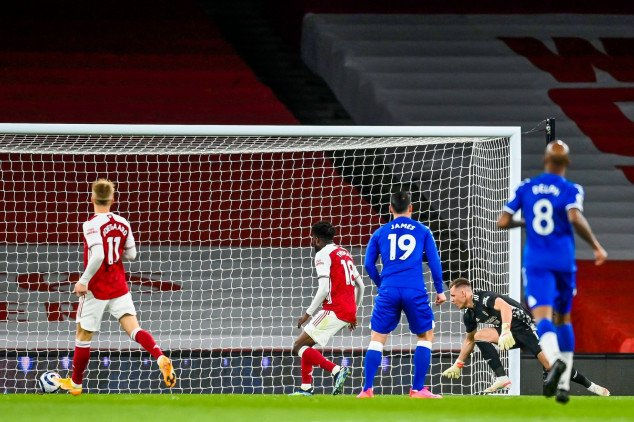Arsenal match 91-year-old feat with Everton defeat
