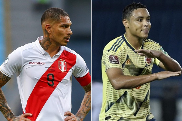Peru vs Colombia - Watch this World Cup Qualifying match on June 3, 2021