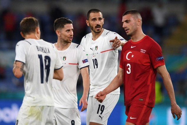 Demiral enters record books with own goal vs Italy
