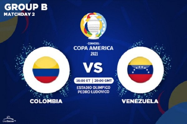 Copa América - TV and streaming channels to watch Colombia vs Venezuela