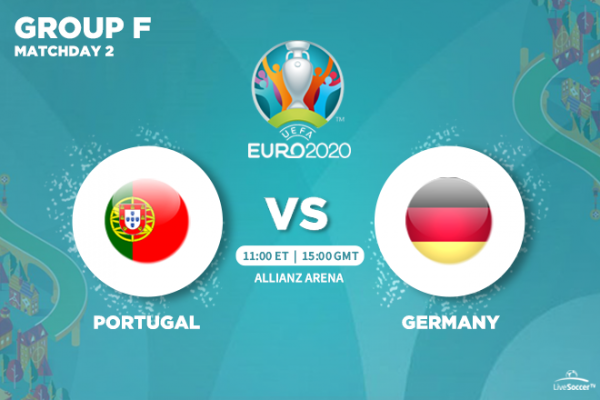 UEFA Euro 2020 - TV and streaming channels to watch Portugal vs Germany