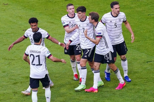 Germany face Hungary without four key players