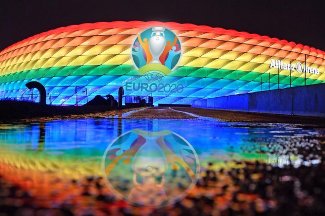 Germany not allowed to change Allianz Arena colors