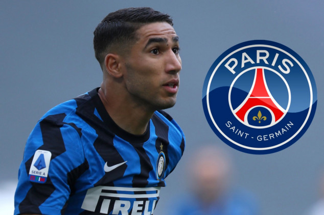 PSG seal deal for Inter's Achraf Hakimi