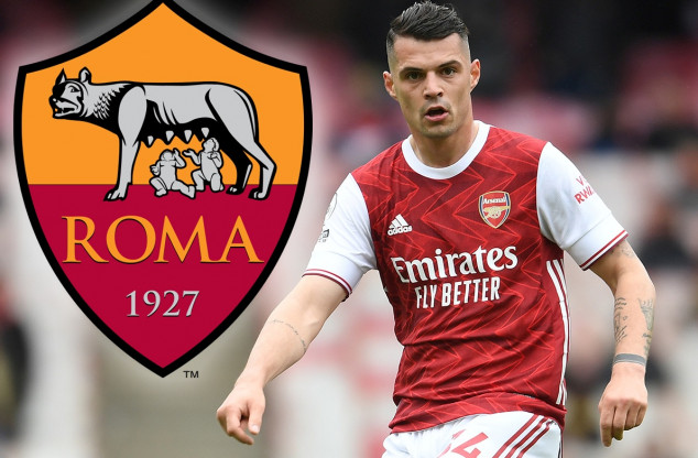 Roma close to securing deal for Granit Xhaka