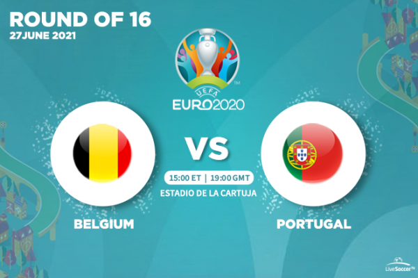 UEFA Euro 2020 - TV and streaming channels to watch Belgium vs Portugal