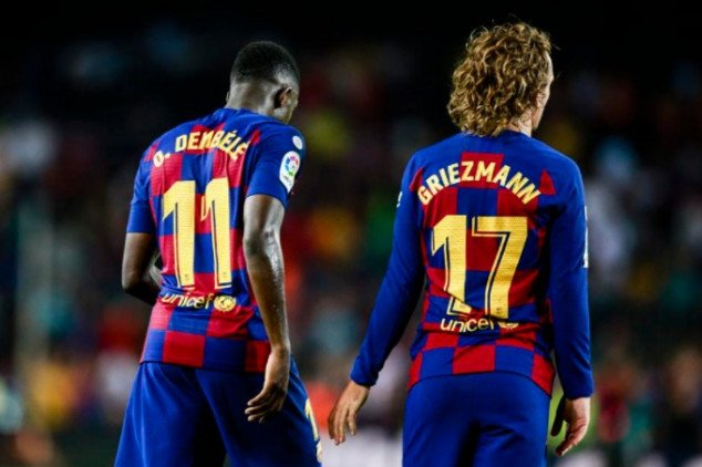 Dembele & Griezmann apologize after controversy