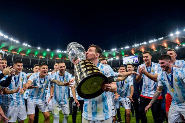 Argentina end title drought with Copa win vs BRA