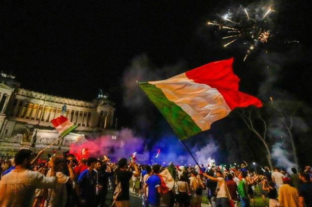 At least one fan killed during Italy's Euro party