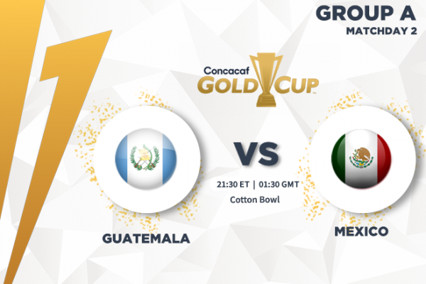 CONCACAF Gold Cup - TV and streaming channels to watch Guatemala vs Mexico