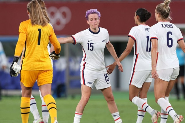 USWNT suffers shock loss to Sweden