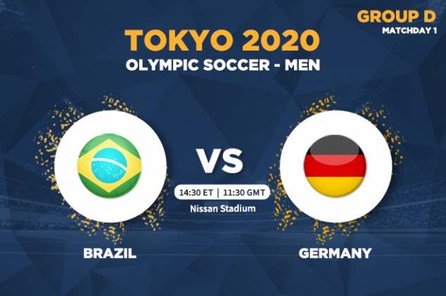 How to watch Brazil vs Germany live at Tokyo 2020