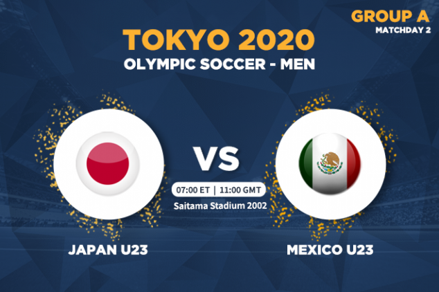 WTW Japan vs Mexico live on July 25, 2021