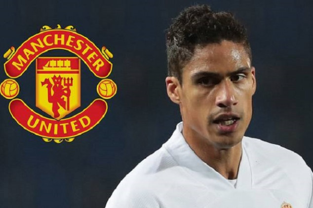Done deal: Varane joins Manchester United