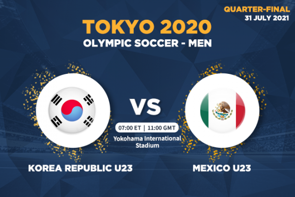 Olympic Soccer (Men) - How to watch Korea Republic vs Mexico in over 120 countries
