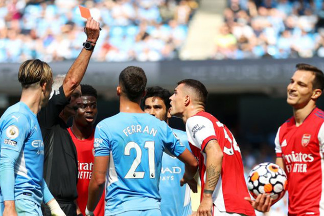 All the horrible stats from Man City vs Arsenal