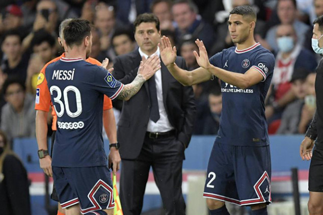 Pochettino explains why he subbed off Messi