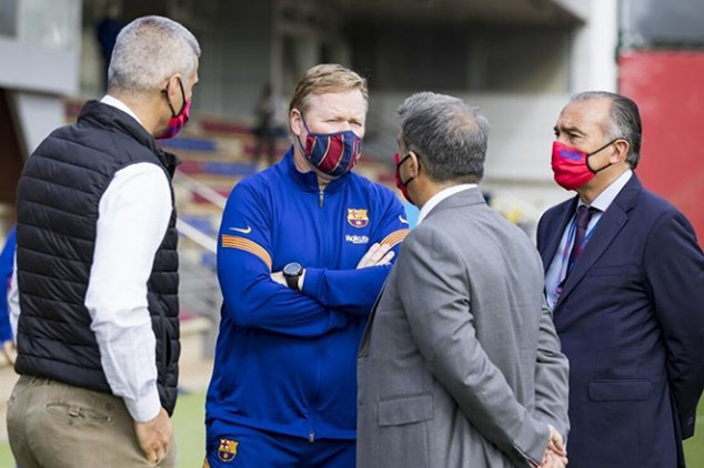 Barca president makes worrying claim about Koeman