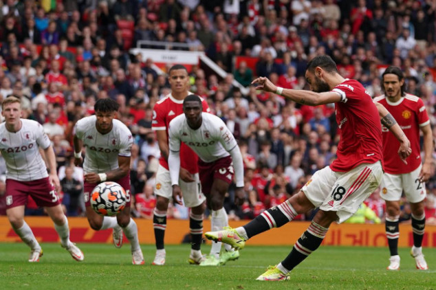 Ole blames Bruno's penalty miss on Villa players
