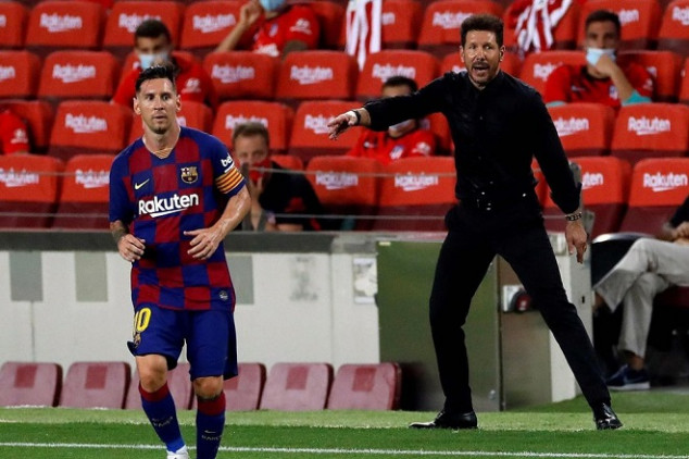 Simeone admits trying to hire Messi this summer