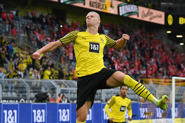 Haaland set to hold January talks with EPL club