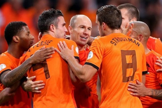 Louis van Gaal confirms Netherlands' final 23