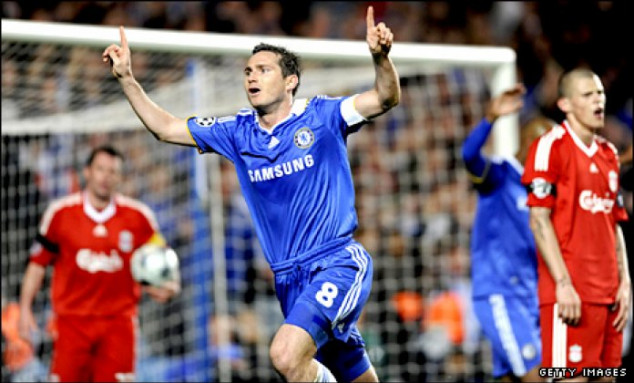 Frank Lampard, Chelsea, Liverpool, UEFA Champions League