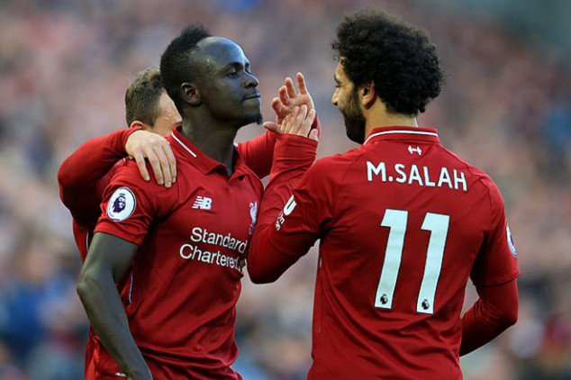 Sadio Mane, Mohamed Salah, Liverpool, English Premier League