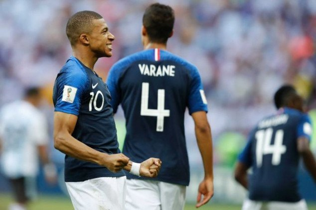 Kylian Mbappe, France, Argentina, FIFA World Cup