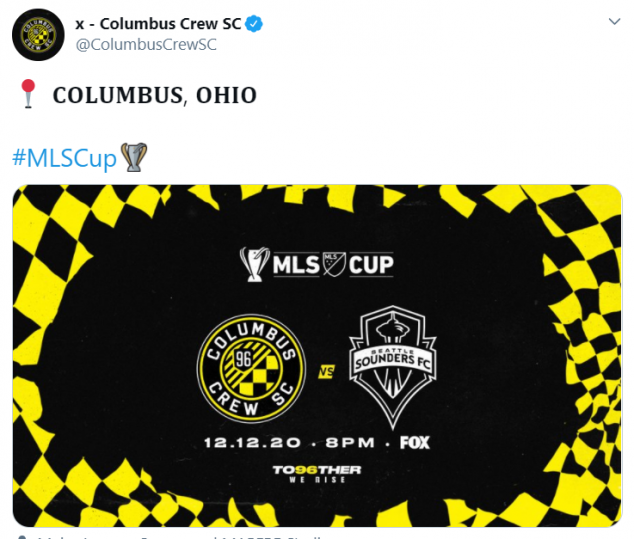 MLS Cup Final, Columbus Crew, Seattle Sounders